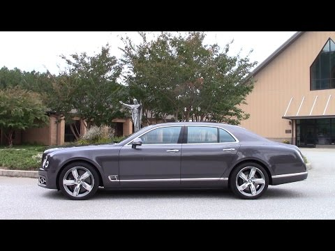 Bentley Mulsanne Speed Road Test & Review by Drivin' Ivan
