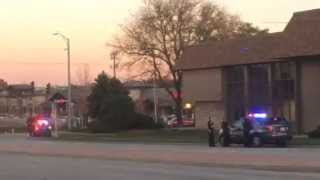Raw video: Robbery at Bank of America in Overland Park