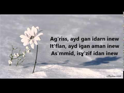 Tawargit - Aldjig n'utfel (Fleur de neige) + Lyrics
