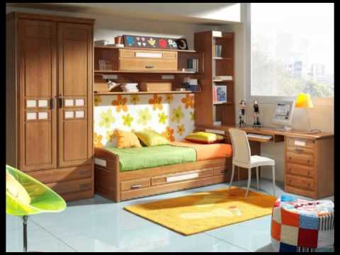 Dormitorios juveniles con y sin puente youtube for Dormitorios juveniles de madera