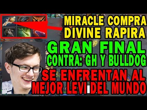 "BRUTAL FINAL TEAM LIQUID MIRACLE COMPRA ""DIVINE RAPIER"" | DOTA 2 COSAS"
