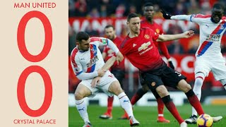 Man United vs Crystal palace (0-0) | All goals and highlights