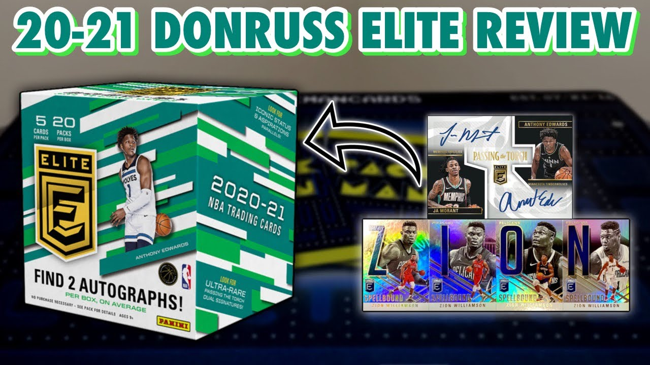 Special Online Exclusive! | 2020-21 Panini Donruss Elite Basketball Hobby Box Review