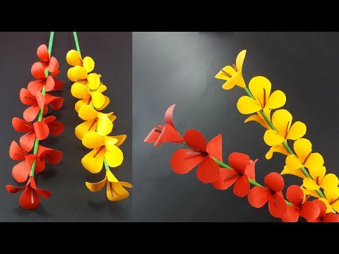 How to Make A Gift Flower | Easy Flowers Making | Handmade Gift Ideas : DIY Paper Crafts