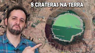 Descubra 8 crateras de meteoros pelo Google Maps #AprendiHoje