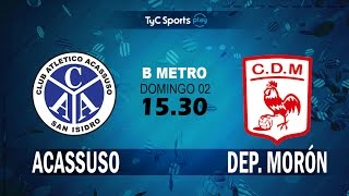 Acassuso vs Deportivo Moron full match