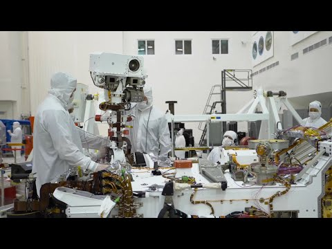 Building NASA's Mars 2020 Rover