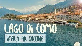 Italy - Lake Como (Lago di Como)   4K Drone