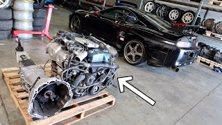 Picking up my 2jz imported from japan