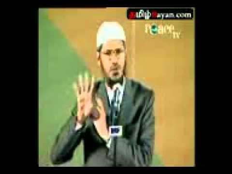 Zakir Naik : Hindu Vedas In Prophet Mohamed By TAMIL