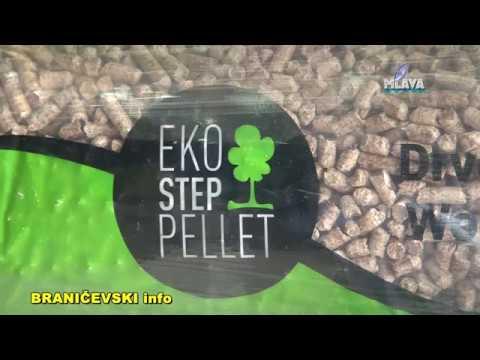 Eko Step Pellet, otvaranje fabrike u Petrovcu na Mlavi (RTV MLAVA 04.11.2017.)