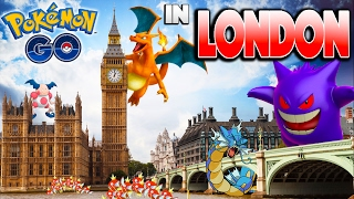What is Pokemon GO like in London?