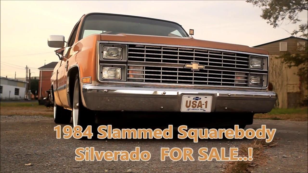 1984 Slammed Squarebody Silverado Patina Hot Rod C10 \
