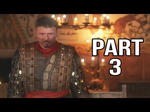 Kingdom Come Deliverance Gameplay Walkthrough Part 3 - Sir Radzig