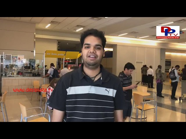 Rohit - Indian Idol runner up arrives for America Telugu Convention - Dallas - Texas