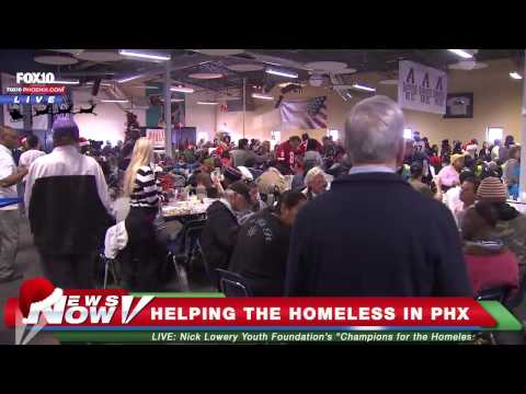 FNN: NFL Legends, Cardinals, Diamondbacks, Miss Arizona and More Help the Homeless in Phoenix