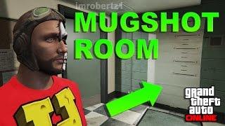 GTA 5 Online - Police Mugshot Room Glitch! Character Appearance Secret Room! GTA 5 Glitches!
