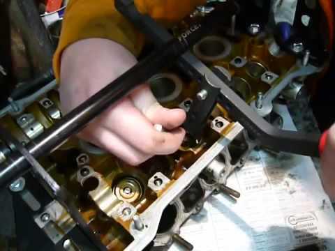 Рассухаривание клапанов на Audi A6, двигатель 2.8 V6 AQD, 99 год