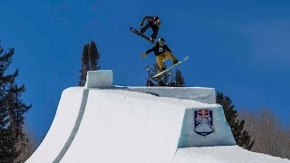 Red Bull: Doubles Jam Session at Red Bull Double Pipe