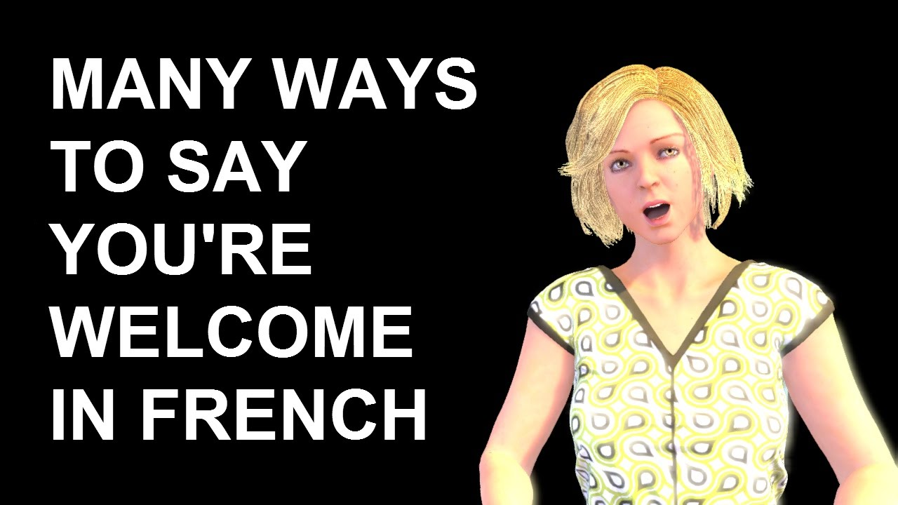French lesson 198 how to say youre welcome in french greetings french lesson 198 how to say youre welcome in french greetings polite expressions de rien m4hsunfo Choice Image