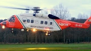 Irish Coast Guard Rescue Helicopter - Sikorsky S-92