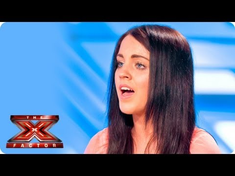 Melanie McCabe sings Diamonds by Rihanna - Room Auditions Week 2 - The X Factor 2013
