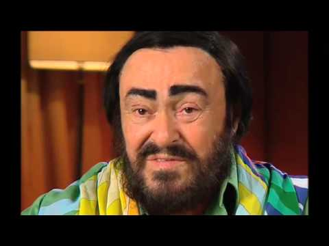 Luciano Pavarotti interview - farewell tour - Australia
