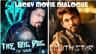 WWE DUBBED IN HINDI DIALOGUES , Ft. Roman Reigns & Allu Arjun , WWE HINDI DUB.