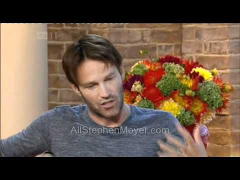 Stephen Moyer on This Morning