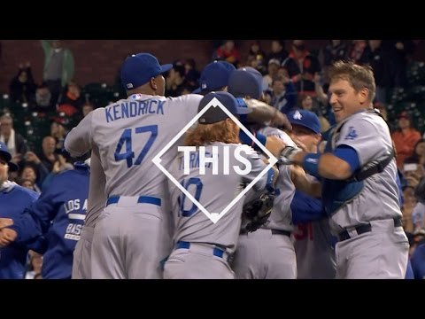 #THIS: Dodgers clinch West behind Kershaw's dominance