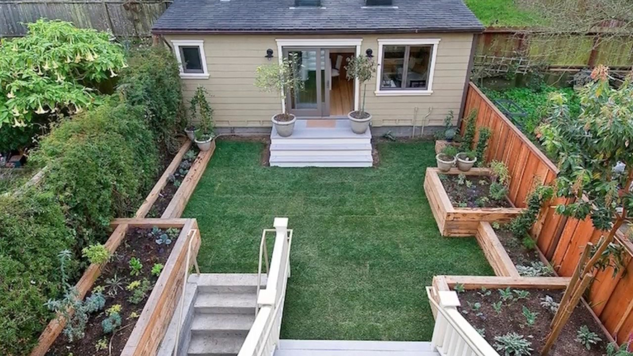 27 Small Backyard Ideas on a Budget - YouTube on Small Backyard Renovations id=44471