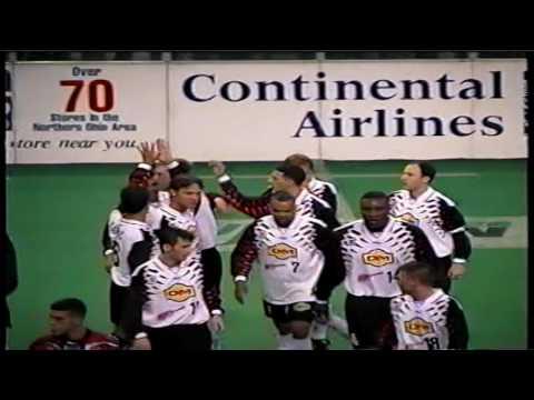 Goran Vasic with Cleveland Crunch 1999