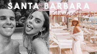 VLOG: Santa Barbara Staycation (Husband pees the bed!?)