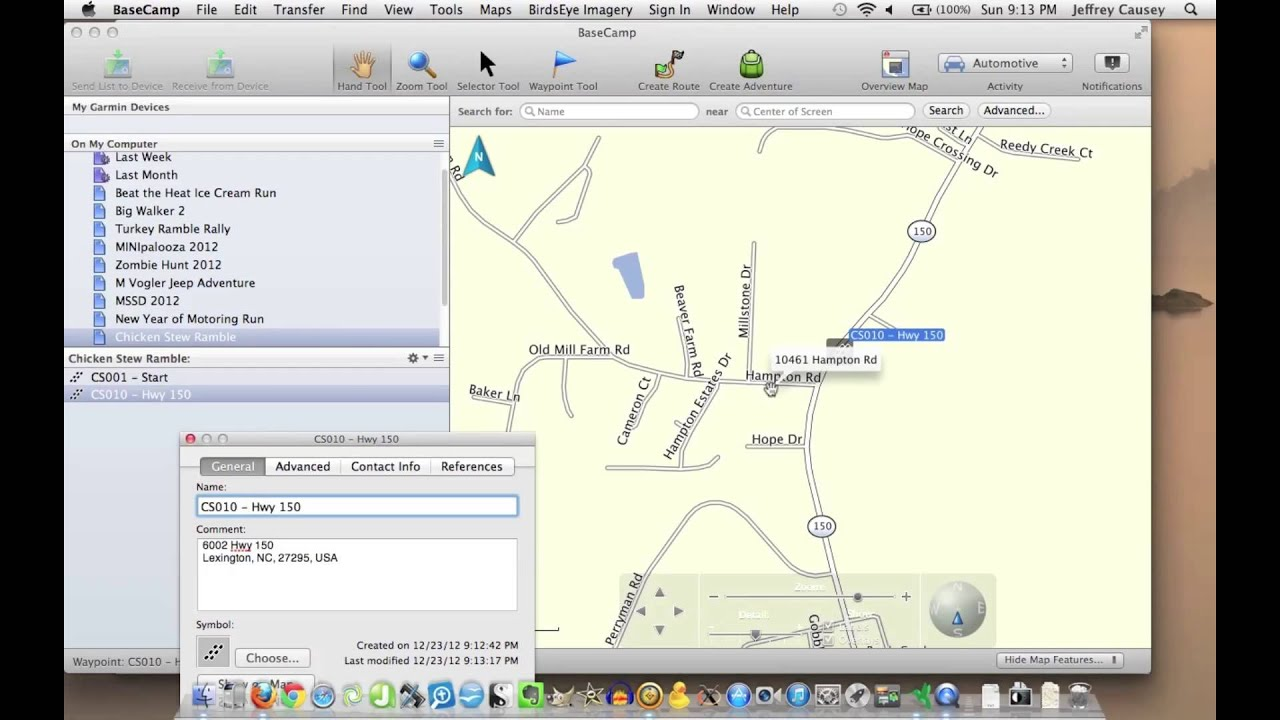 Creating GPX Files with Google Maps and Garmin Bas - YouTube