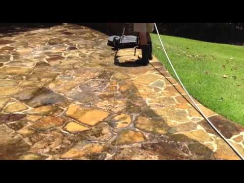 Perfect How To Clean Flagstone And Bricks