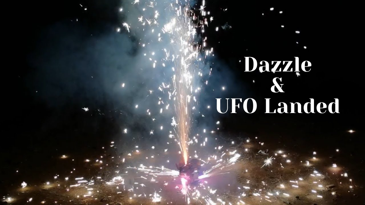 BW1429 BW1430 UFO Landed & Dazzle Fountain Boomwow fireworks 2021
