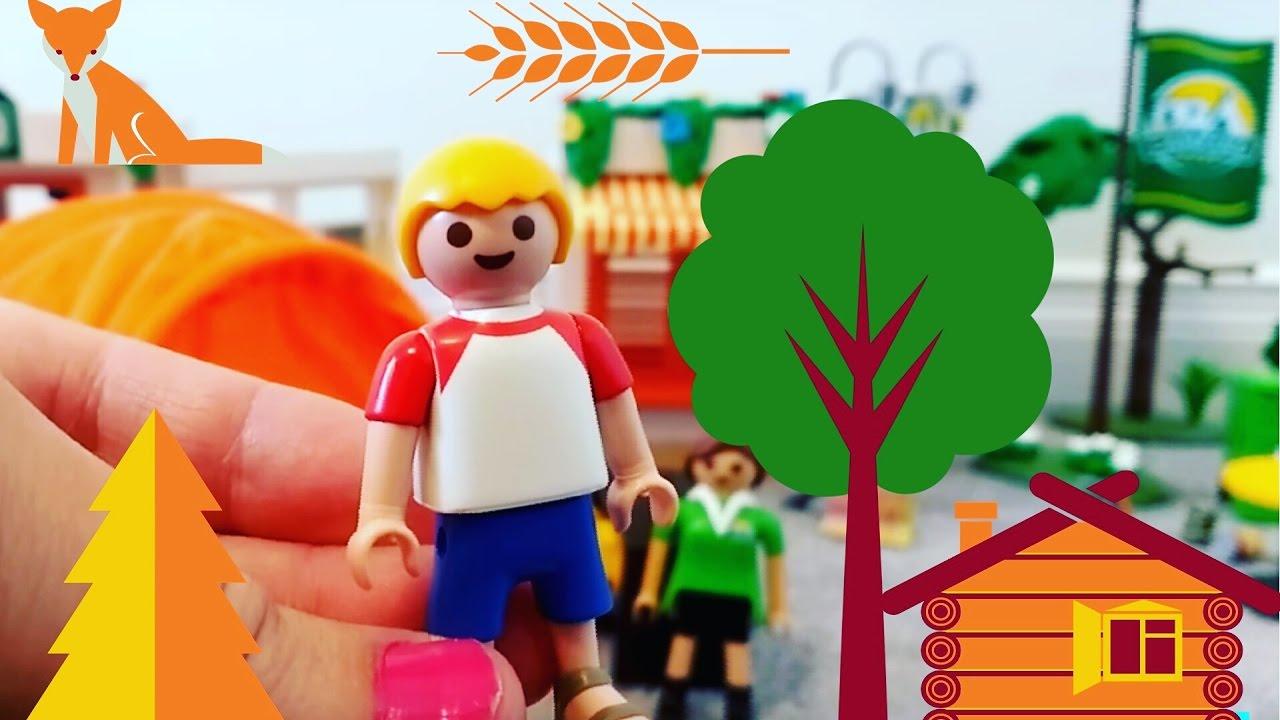 Playmobil Summer Fun Camping Set - YouTube