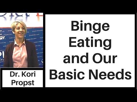 Binge Eating & Our Basic Needs: Break the Cycle- Kori Propst