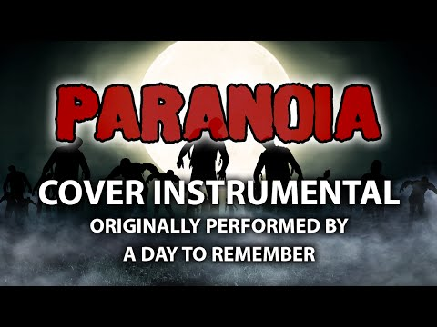 Paranoia (Cover Instrumental) [In the Style of A Day To Remember]