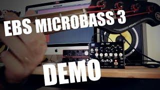 EBS MicroBass 3 DEMO
