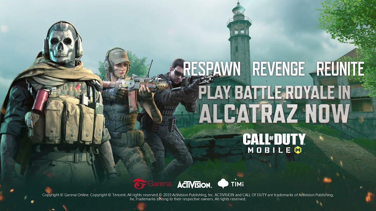 Alcatraz Live Action   Call of Duty: Mobile - Garena