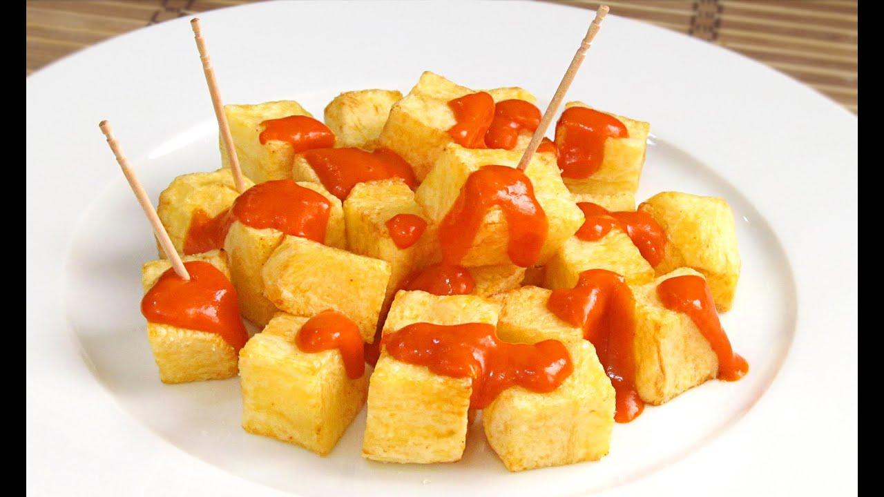 Patatas Bravas | Las Autenticas!! - YouTube