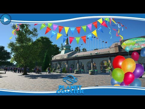 FOREST LAKE PRETPARK GEOPEND!!! - PLANET COASTER