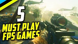 The 5 FPS Games Every Gamer Needs To Play