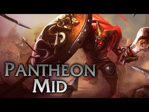 League of Legends   Glaive Warrior Pantheon Mid - Full Game Commentary