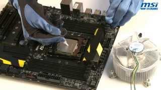 msi how to install intel lga 2011 3 cpu