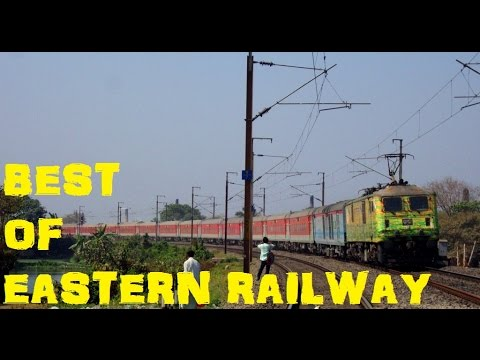 BEST of Eastern Railways : NON STOP High Speed Action