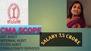Cma (ICAI) scope in INDIA