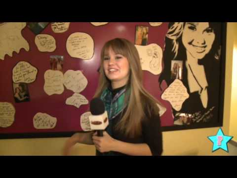 Debby Ryan Shows You Around Her Dressing Room!