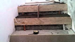 1 Облицовка лестницы плиткой просто(, 2016-03-15T20:18:05.000Z)